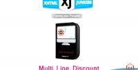 Line multi discount