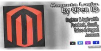 Login magento id open by