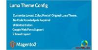 Luma magento2 theme config