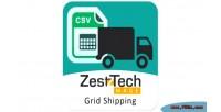 Mage zesttech shipping matrix grid
