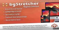 Magento bgstretcher bg slideshow resizer image