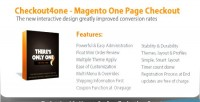 Magento checkout4one checkout page one
