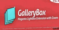 Magento gallerybox lightbox zoom with extension