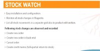 Magento stockwatch 2 extension
