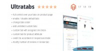 Magento ultratabs extension