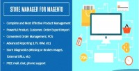 Manager store for magento