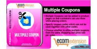 Multiple magento coupons extension