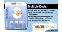 Multiple magento deals extension