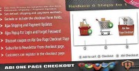 One abi page checkout
