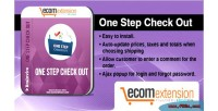 One magento extension checkout step