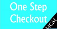 One magento step checkout