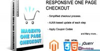 One responsive page checkout