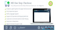 One responsive step checkout