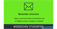 Order back 2 magento extension
