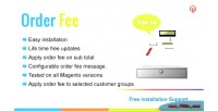 Order magento fee