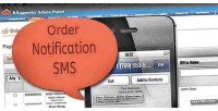 Order new notification message text sms