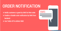 Order sms notification extension 2 magento
