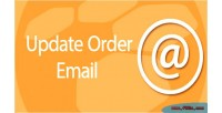 Order update email status & address