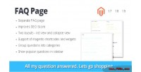 Page faq magento extension