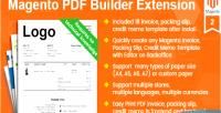 Pdf magento invoice packing slip memo credit template builder builde pdf magento