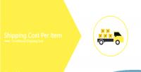 Per shipping item