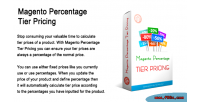 Percentage magento tier pricing
