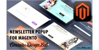 Popup newsletter for magento