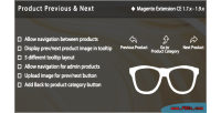 Previous product extension magento next