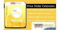 Price magento slider extension