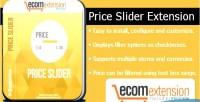 Price magento slider extension