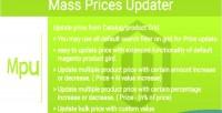 Prices mass updater