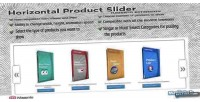 Product horizontal extension magento slider