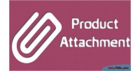 Product magento attachment