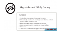 Product magento country by hide