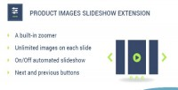 Product magento extension slideshow images