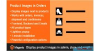 Product magento orders in images