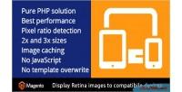 Product magento retina images