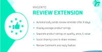 Product magento reviews extension rating reminder review with