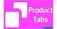 Product magento tabs