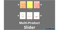 Product multi responsive slider
