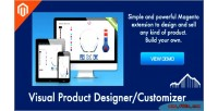 Product visual designer 1 customizer magento for