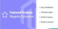 Products featured extension 2 magento