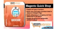 Quick magento shop extension