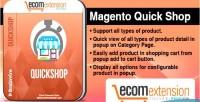 Quick magento shop extension