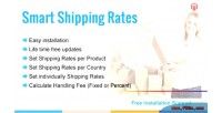 Rate shipping per product
