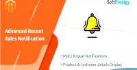 Recent advanced sales extension magento notification