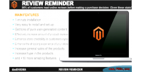 Reminder review for magento