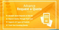 Request advance a extension quote 2 magento