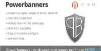 Responsive powerbanners banner slider