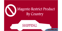 Restrict magento country by product